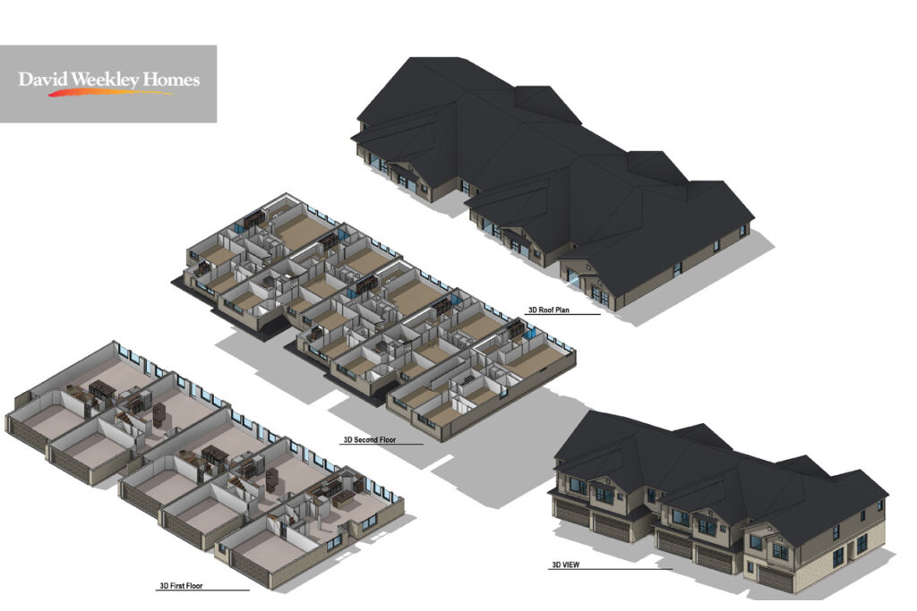 3D VIEW - Town home